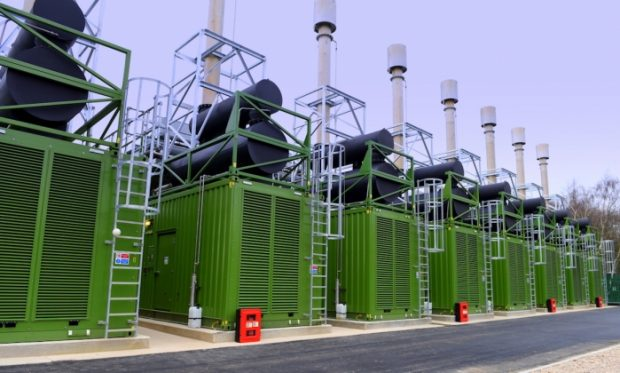 Cummins may be best known for truck engines, but it also provides a wide variety of power generation and distribution products, including this backup facility in the UK. Image courtesy of Cummins.