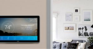 A key advantage of many of the smart home hubs is that they enable system-wide compatibility. For example, the Atmos smart home control platform shown here is compatible with Wi-Fi, Bluetooth, Bluetooth Low Energy, Zigbee, Z-Wave and even infrared. Image courtesy of Atmos Home Tech.