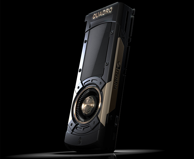With teraflops of single- and double-precision performance combined with its teraflops of purpose-built performance for deep learning and artificial intelligence, the NVIDIA Quadro GV100 should make extreme design, rendering, simulation and virtual reality applications a routine part of your day. Image courtesy of PNY Technologies Inc.