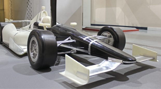 As part of its workflow, ARC taps full-scale wind tunnel testing for final validation of parts from CFD and scale model testing. Image courtesy of Auto Research Center.