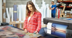 HP DesignJet Z9+ Printer Series Print Service provider. Image courtesy of HP.