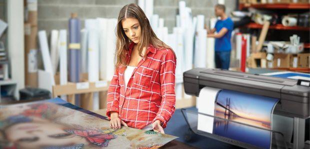 HP DesignJet Z9+ Printer Series Print Service provider. Image courtesy of HP.
