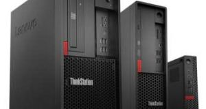 Lenovo ThinkStation P330 family of workstations. Image courtesy of Lenovo.