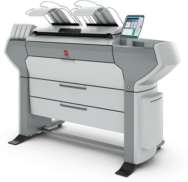 Océ ColorWave 500 large-format printer. Image courtesy of Canon Solutions America.