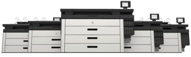 HP's RENDER PageWide XL family of printers. Image courtesy of HP.