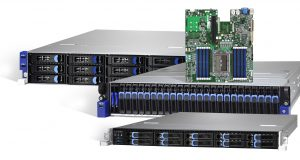 Tyan was one of several HPC hardware vendors to launch new server and storage solutions at ISC Supercomputing 2018 based on the AMD Epyc CPU. Image courtesy of Tyan.