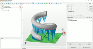 Autodesk has announced the 2019 edition of Netfabb, its suite of additive manufacturing and design software solutions. Version 2019 debuts a new Delete Supports by Criteria functionality that provides the ability to define the criteria for deletion of multiple supports, eliminating the need to delete supports individually. Image courtesy of Autodesk Inc.