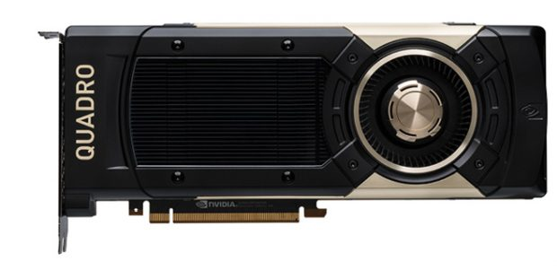The new NVIDIA Quadro GV100 is powered by NVIDIA Volta to deliver extreme memory capacity, scalability and performance, according to the company. Images courtesy of NVIDIA.