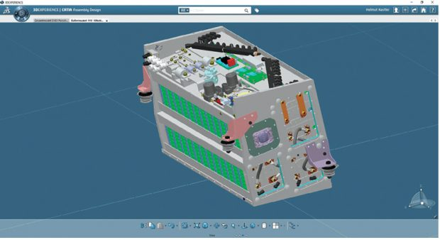 Dassault Systèmes says its 3DEXPERIENCE platform can be used to model the battery from the initial chemistry all the way to how it operates within the vehicle as a system. Images courtesy of Dassault Systèmes.
