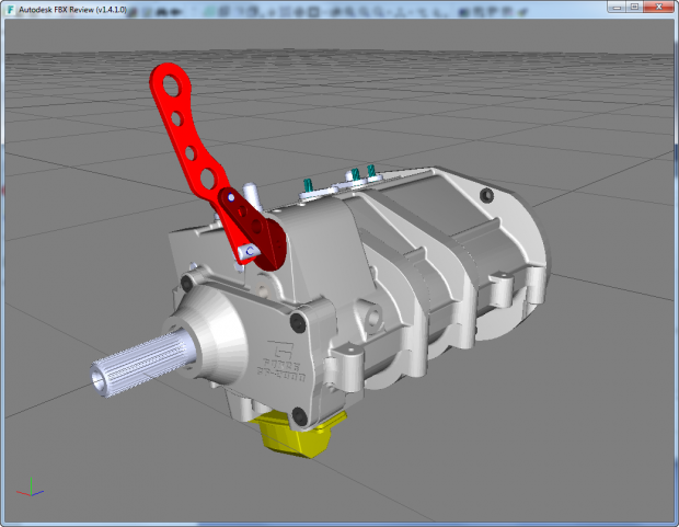 CADfix export support for FBX.