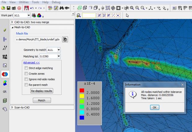 Mesh to CAD comparison. Image courtesy of ITI.