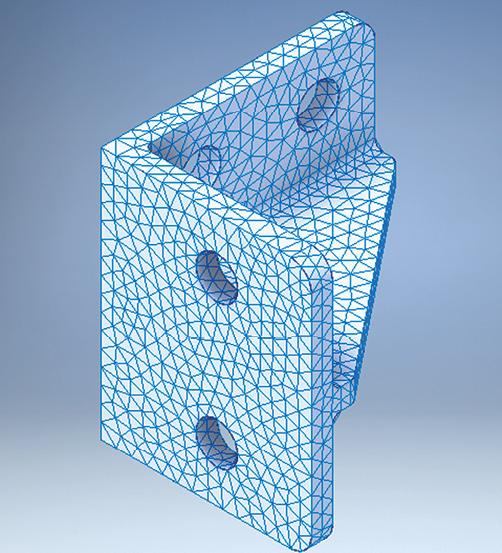 Fig. 3: The default mesh.