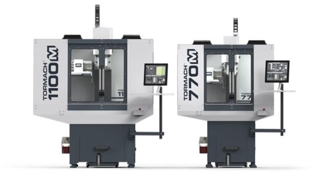 Tormach describes its 770M and 1100M CNC (computer numerical control) machines as its new flagship series. The machines' modular design enables users to make parts today and expand capabilities should such needs evolve. Image courtesy of Tormach Inc.