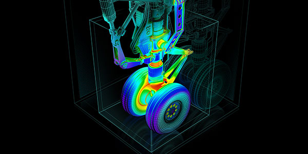 Simulating interconnected systems in complex models can be sped up considerably with workstations configured for simulation. Image courtesy of NVIDIA.
