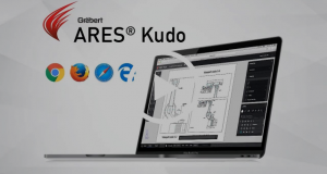Powered by AWS' Global IT infrastructure, ARES Kudo offers all the CAD features you came to expect to create and modify drawings in DWG or DXF format, with the additional agility to run in the Cloud. ARES Kudo integrates with your private cloud storage via WebDav or with popular cloud storage services such as Google Drive, Dropbox, Box and OneDrive. Nothing to install, nothing to update, you just need a Web browser to access and edit your drawings online. Image courtesy of Graebert.