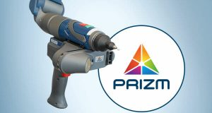 The PRIZM, a full-color laser line probe, can scan at speeds of up to 600,000 points per second. Image courtesy of Faro Technologies Inc.