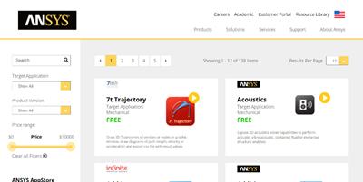 ANSYS Kicks Off New AppStore - Digital Engineering 24/7