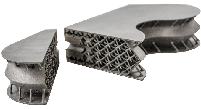 cb701f625c Engineers at Materialise and Atos reduced material usage by 66% in this  aerospace insert with