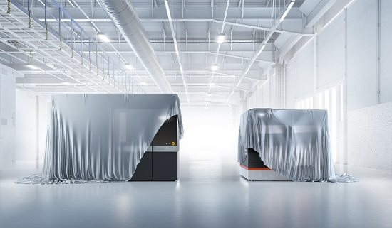 BigRep's new MXT large-scale filament additive manufacturing systems, to be announced at FORMNEXT 2018. Image courtesy BigRep.