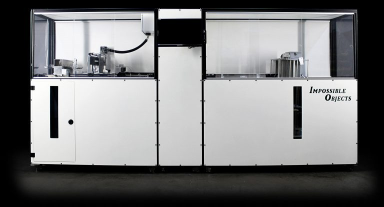 Impossible Objects has introduced its composite-based additive manufacturing technology (CBAM) to select Fortune 500 companies to pilot. Image courtesy of Impossible Objects.