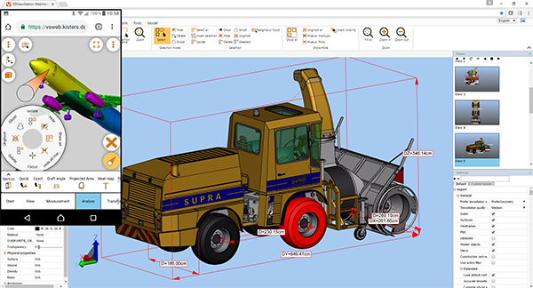 KISTERS Debuts 3DViewStation Fast WebViewer for Catia, NX, Creo and more - Digital Engineering