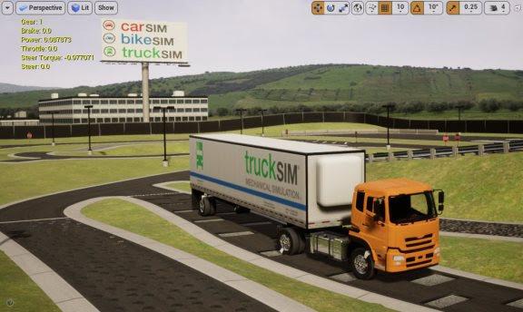 Mechanical Simulation Releases CarSim, TruckSim, BikeSim, and