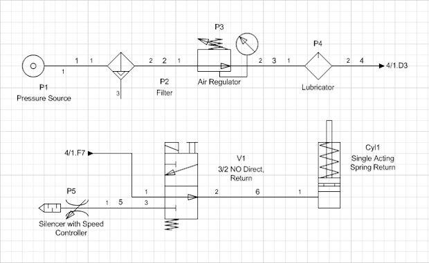 Electrical Cad Runs On Visio, Visio Wiring Diagram