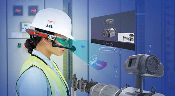 1f0b62987741 RealWear lets you use voice control to operate its hands-free AR system.  The company has a strategic agreement with Honeywell to cobrand and sell  the ...