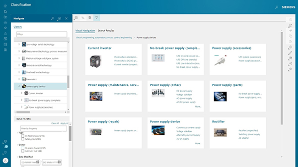 Siemens' Teamcenter Now Supports eCl@ss Standard to Streamline Data
