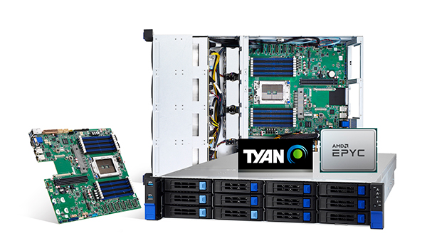 TYAN Launches AMD EPYC 7002 Series Processor-Based Server