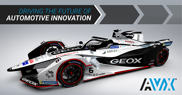 Estrecho de Bering cubo tinta  AVX Announces Support for the GEOX DRAGON All-Electric Formula-E Racing  Team - Digital Engineering 24/7