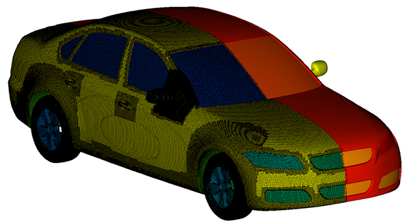 Use of CF-MESH+ and OpenFOAM Helps Solve Turbulent Flow