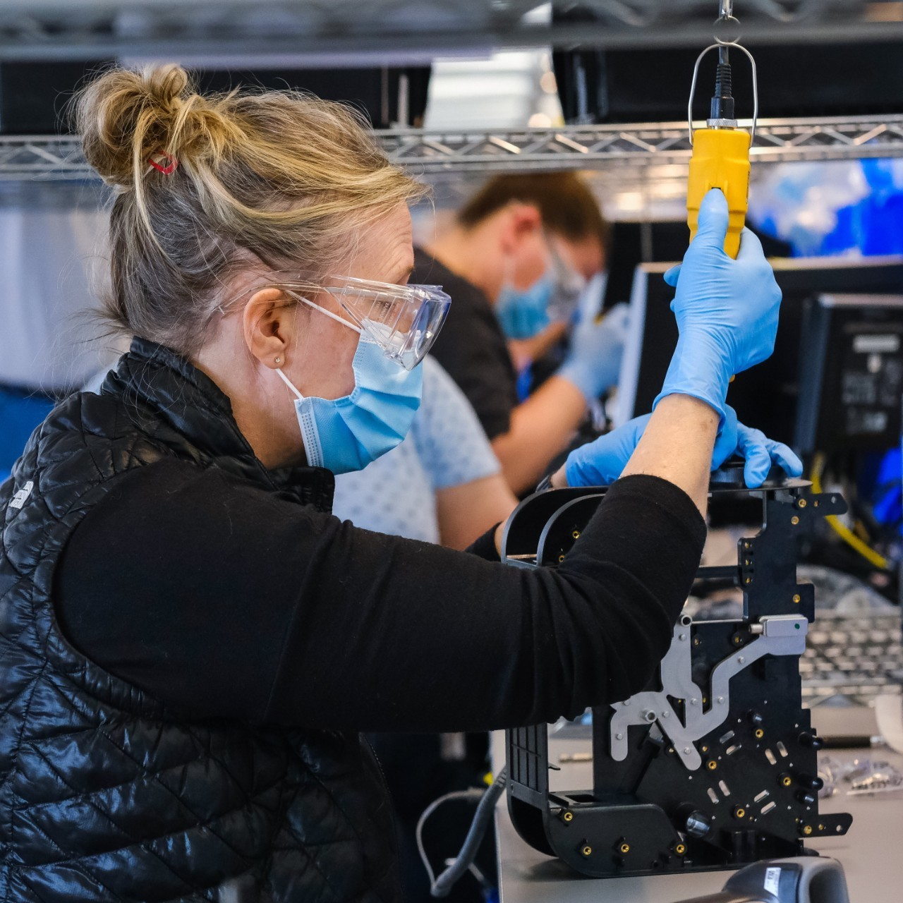 3D printing helped GM accelerate the production and delivery of 30,000 ventilators this month as part of a government contract in response to COVID-19. Image Courtesy of GM