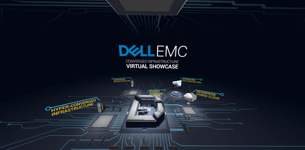 Kaon specializes in building interactive apps for B2B marketing. Shown here is Kaon's app showcasing Dell server products (image courtesy of Kaon).