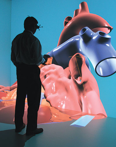 Dassault Systèmes' Living Heart Project brings the power of simulation to cardiac professionals. Image courtesy of Dassault Systèmes.