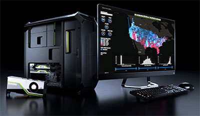 NVIDIA Quadro AI Workstation. Image courtesy of NVIDIA.