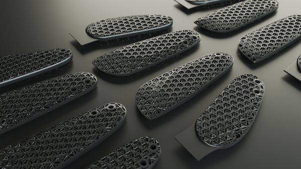 Fast Radius and Carbon teamed up with Rawlings to 3D print lattice structures for high-performance glove. Image Courtesy of Fast Radius