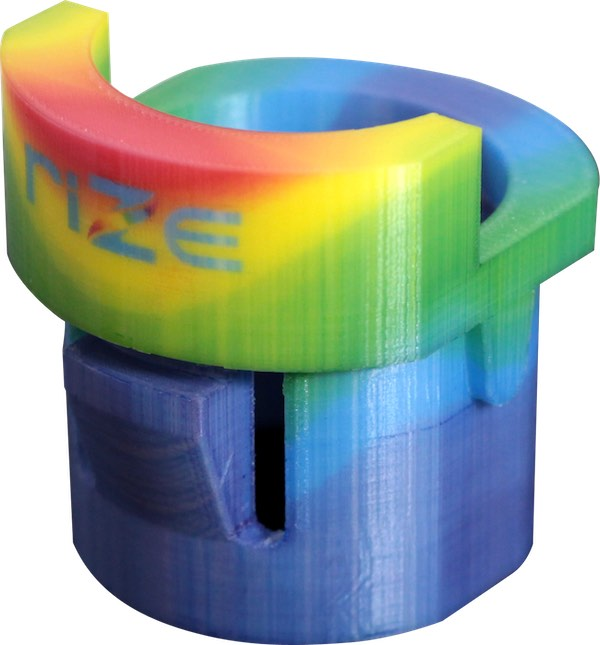 The XRIZE all-in-one design 3D printer supports voxel-level full-color printing. Image Courtesy of RIZE