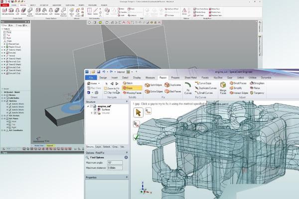Geomagic And SpaceClaim Spark 3D Scan Data Designs - Digital