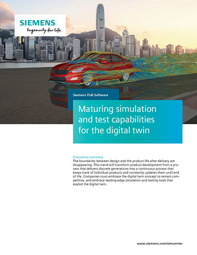 Maturing Simulation and Test Capabilities for the Digital Twin - Digital Engineering