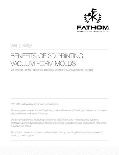 3D Printed Vacuum Form Molds - Digital Engineering 24/7 Download