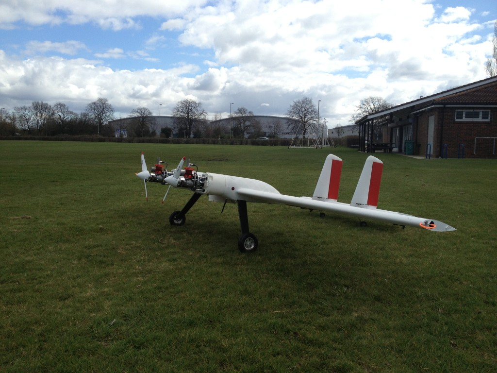 2Seas Surveillance Drone Built Using 3D Printing - Digital