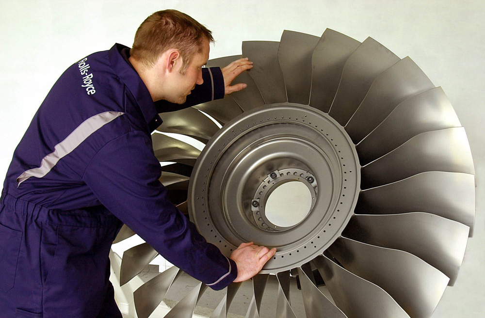 Rolls Royce Looks to 3D Printing for Jet Engine Parts