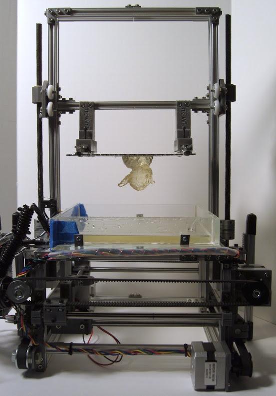 mUVe 3D Offers Open Source UV Resin Based 3D Printer