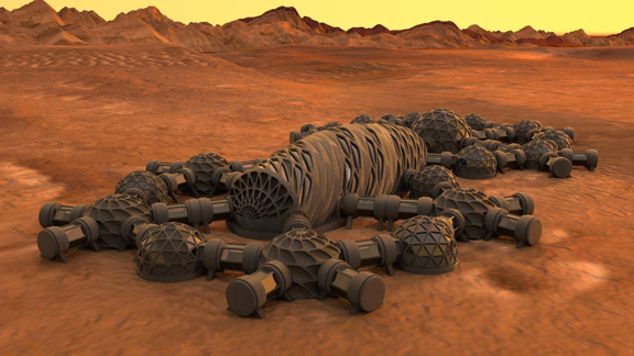 Autodesk and NASA Explore 3D Printing for Mars - Digital