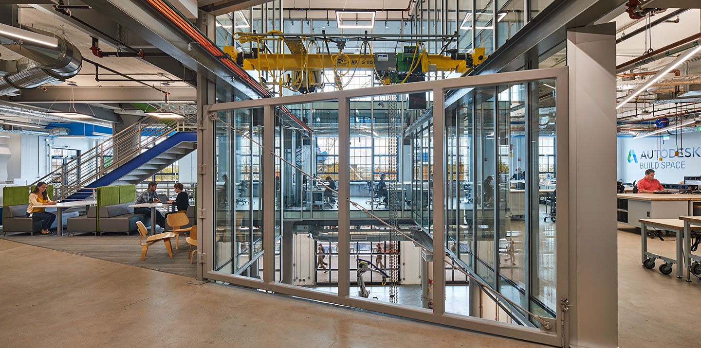 Autodesk BUILD Space: A Space to Build Collaboration and