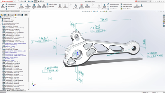 SolidWorks 2018 arrives with touch interface, topology