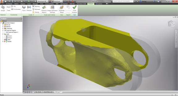 Shape Generator Makes its Debut in the Latest Autodesk